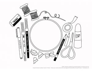 March 2021 Coloring Worksheet