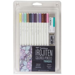 Irojiten Colored Pencil Set, Tranquil