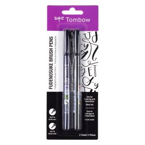 Fudenosuke Brush Pen 2-Pack