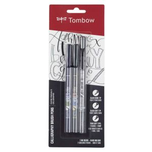 Fudenosuke Brush Pen 3-Pack