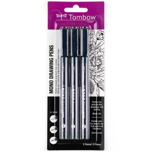 MONO Drawing Pen, 3-Pack