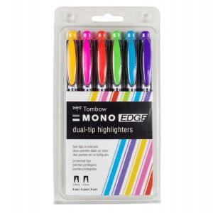 MONO Edge Highlighter, 6-Pack