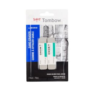 Colored Pencil Eraser 2PK