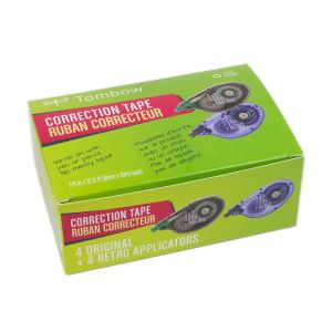 MONO Correction Tape, Club 8-Pack