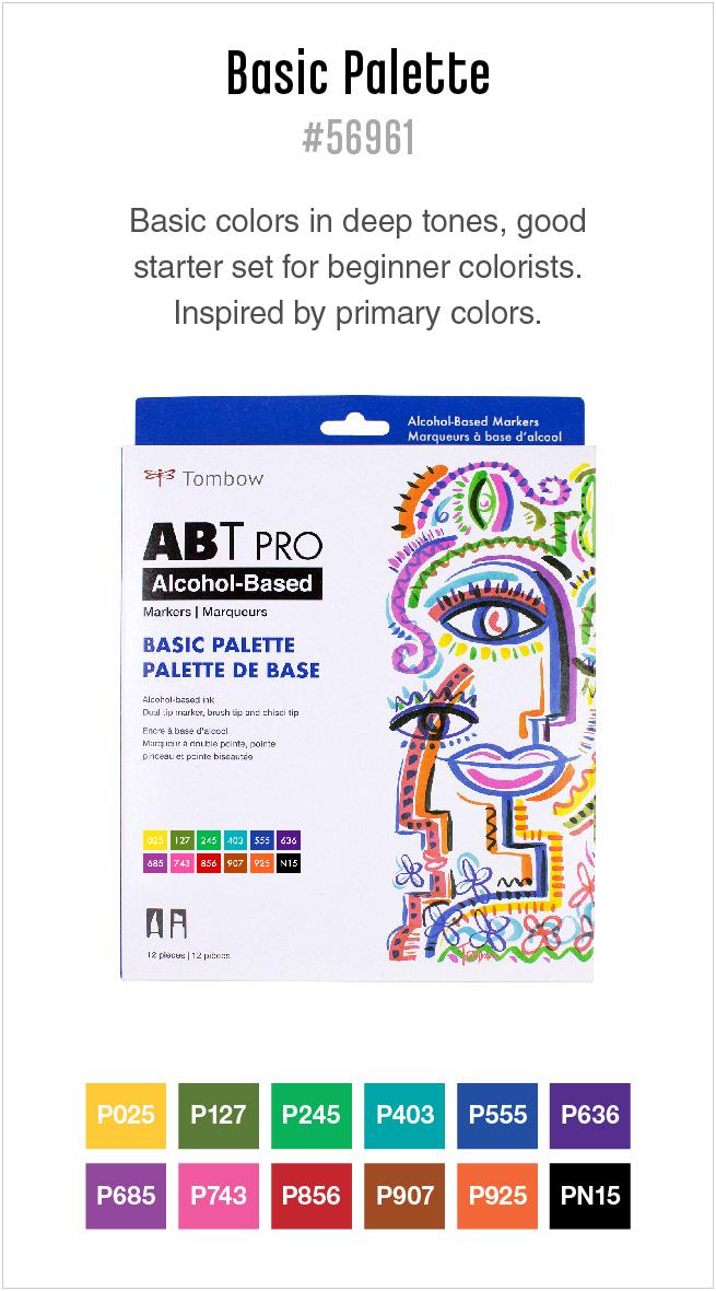12pk basic ABT PRO markers