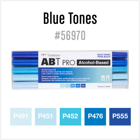 5 pack blue