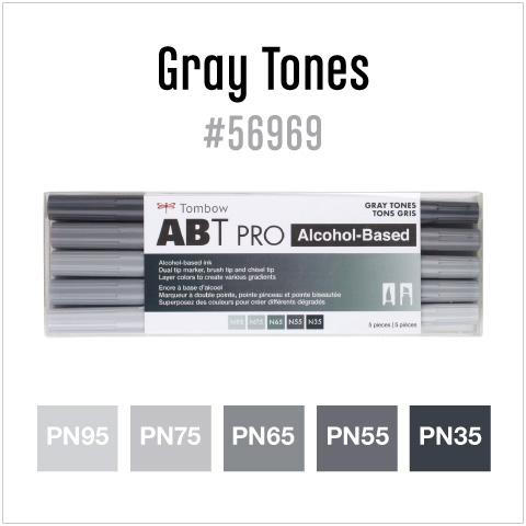 5 pack gray