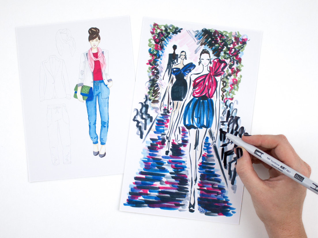 Great for fashion illustration