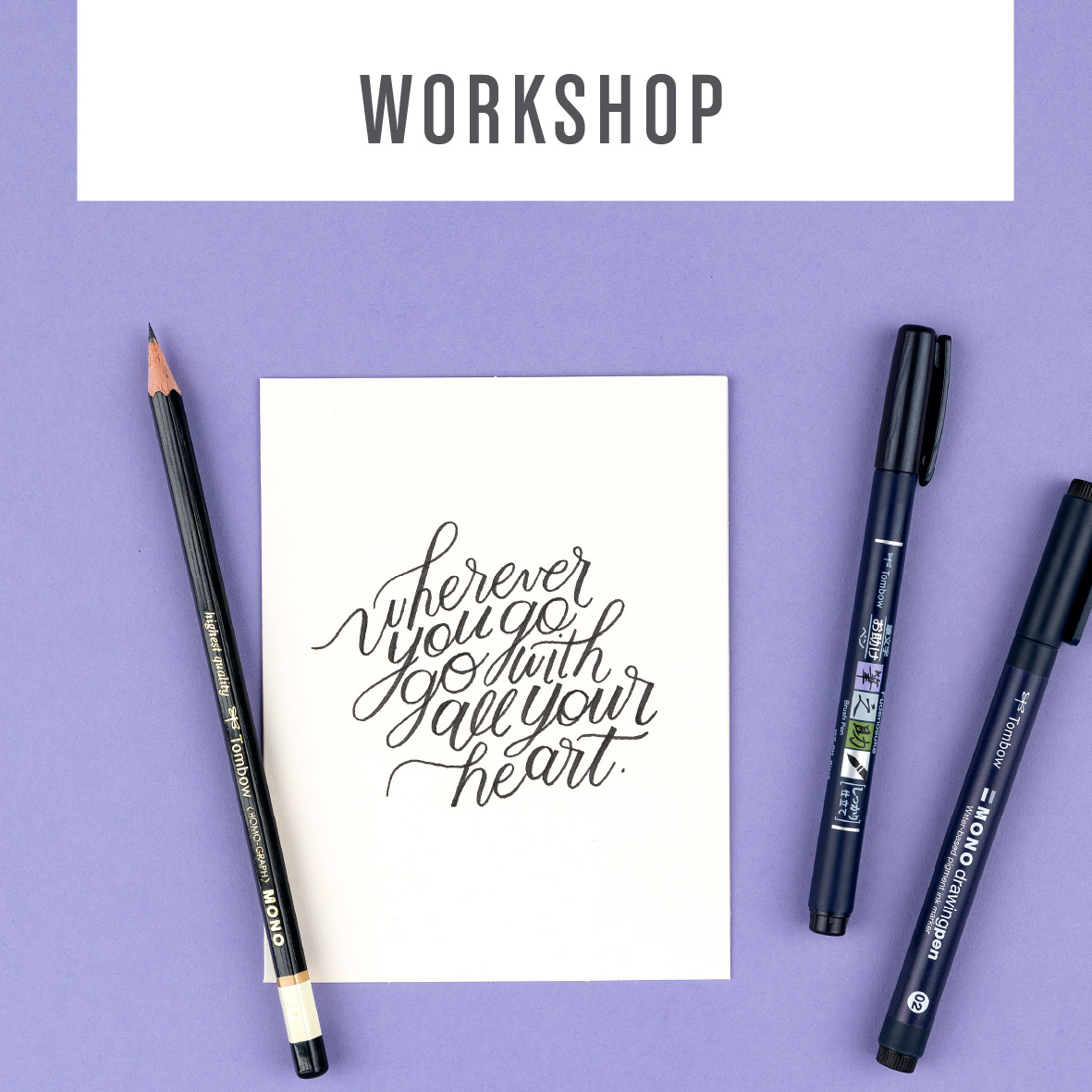 Tombow Online Workshops