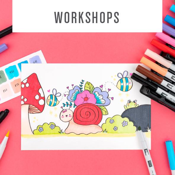Tombow Online Workshops